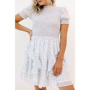 ⚪️LUCA + GRAE Indigo Dress